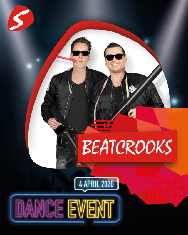 Beatcrooks 4 april 2020 Dance Event