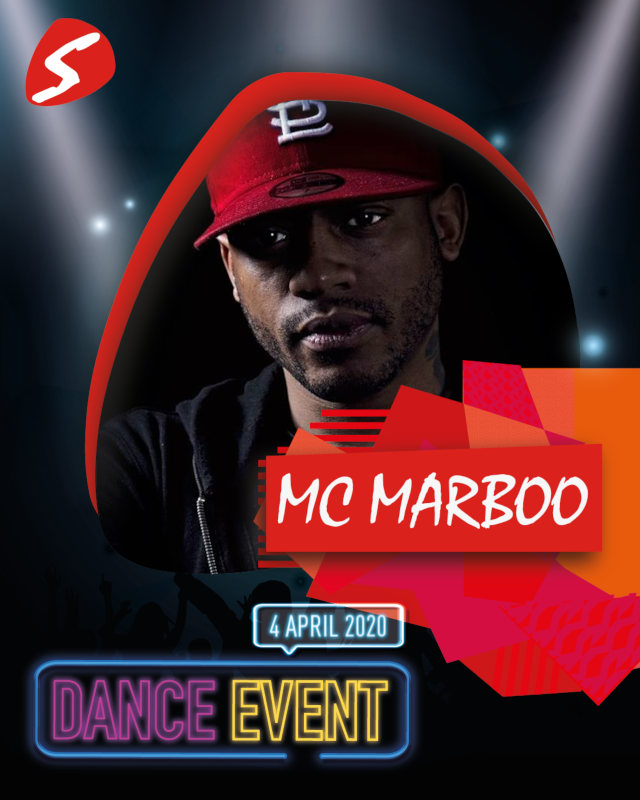 MC Marboo 4 april 2020 Dance Event