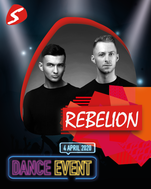 Rebelion 4 april 2020 Dance Event