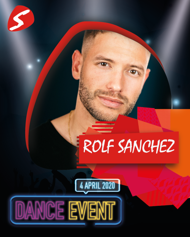 Rolf Sanchez 4 april 2020 Dance Event