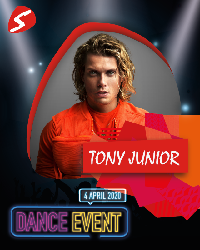 Tony Junior 4 april 2020 Dance Event