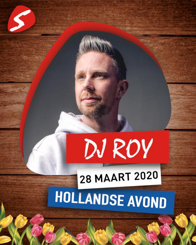 DJ Roy 28 maart 2020 Hollandse Avond