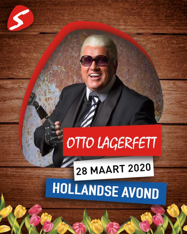Otto Lagerfett 28 maart 2020 Hollandse Avond