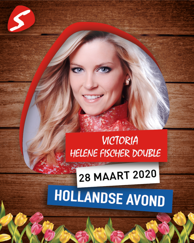 Victoria Helene Fischer Double 28 maart 2020 Hollandse Avond