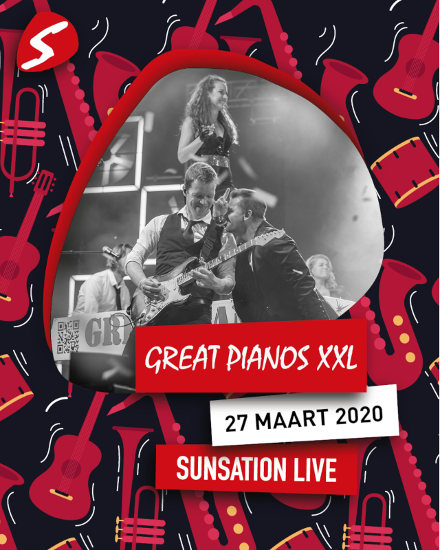 Great Pianos XXL 27 maart 2020 Sunsation Live