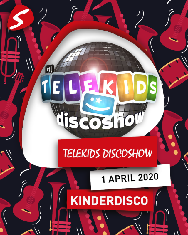 Telekids Discoshow 1 april 2020 Kinderdisco